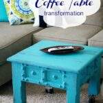 Painted Coffee Table: Surviving the cut