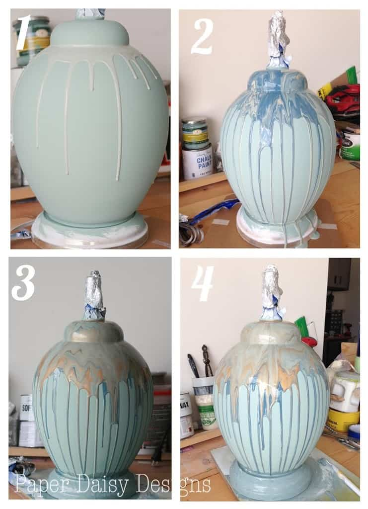 Five Ugly Ducks And How To Create A Ceramic Drip Lamp