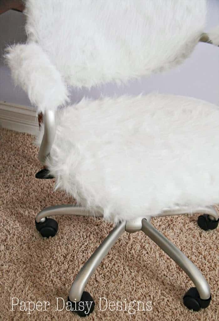 Fine Furry Desk Chair Pottery Barn Hack Deeplysouthernhome Machost Co Dining Chair Design Ideas Machostcouk