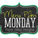 Menu Plan Monday December 2-8