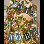Christmas Tree Chalkboard Banner