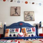 Room of Hope: Baseball Headboard & Sports Room