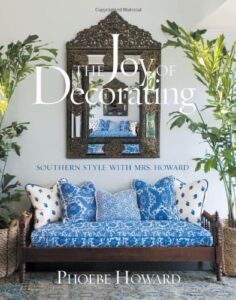 http://www.amazon.com/The-Joy-Decorating-Southern-Howard/dp/1584799617
