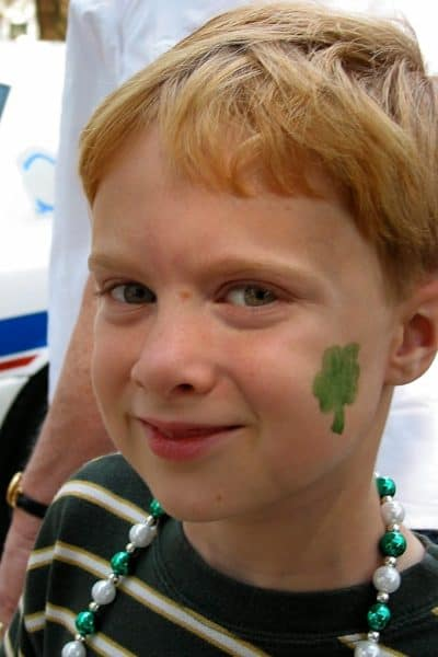 Menu Plan Monday- St. Patrick's day memories