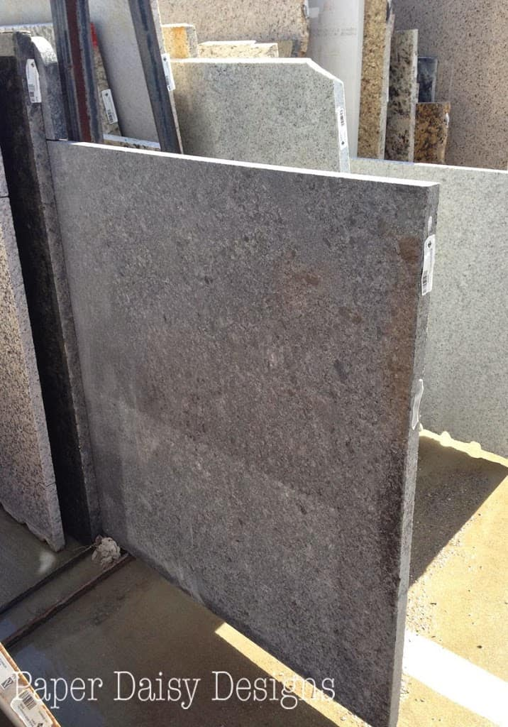 Master bathroom makeover reveal phase 1 deeplysouthernhome for How much do granite remnants cost