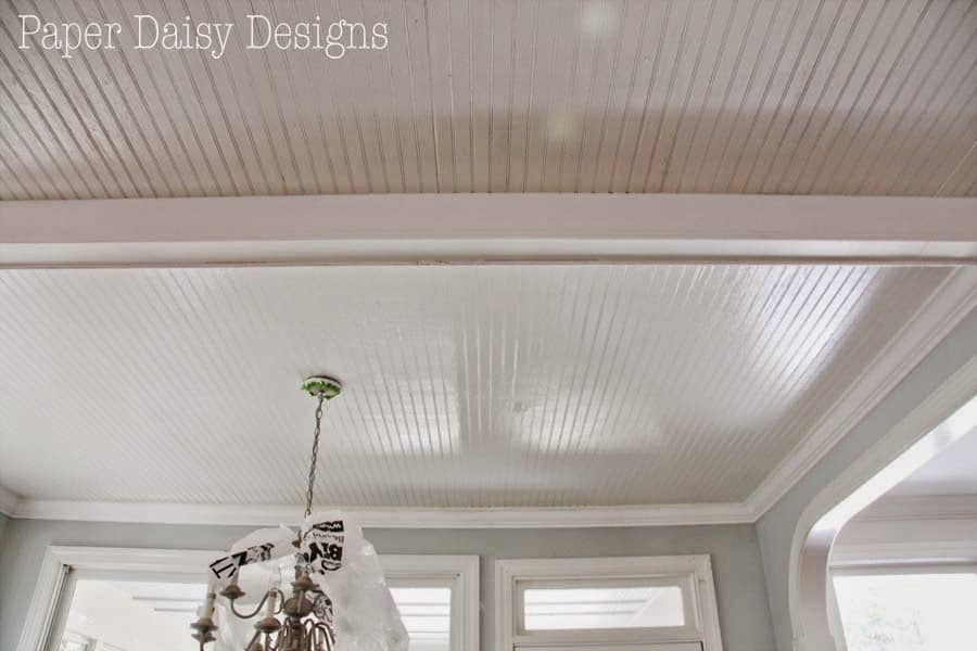 Quick tips for painting bead board ceiling Rules for painting ceilings