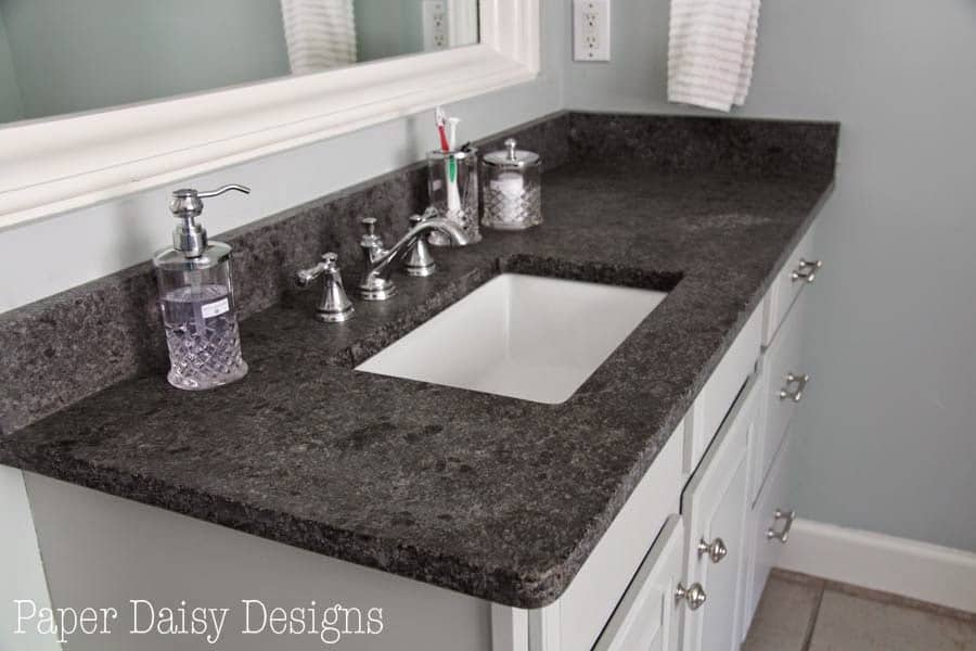 Bathroom Makeover Granite master bathroom makeover reveal, phase 1 -