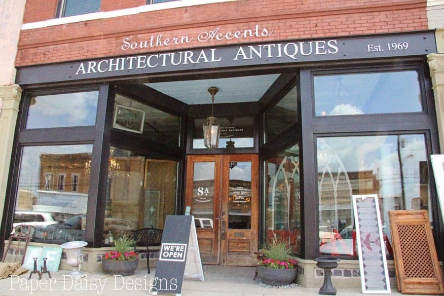 Visiting Southern Accents in Cullman, Alabama