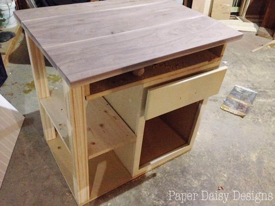 Kitchen Island Cart Diy diy kitchen island cart -