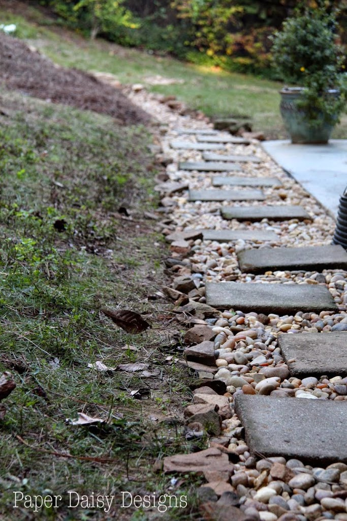 A Dry Creek Bed For Beauty And Drainage Deeplysouthernhome