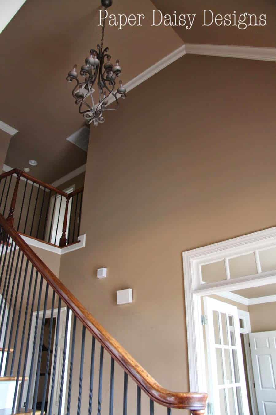 Large Foyer Paint Colors : Our last home