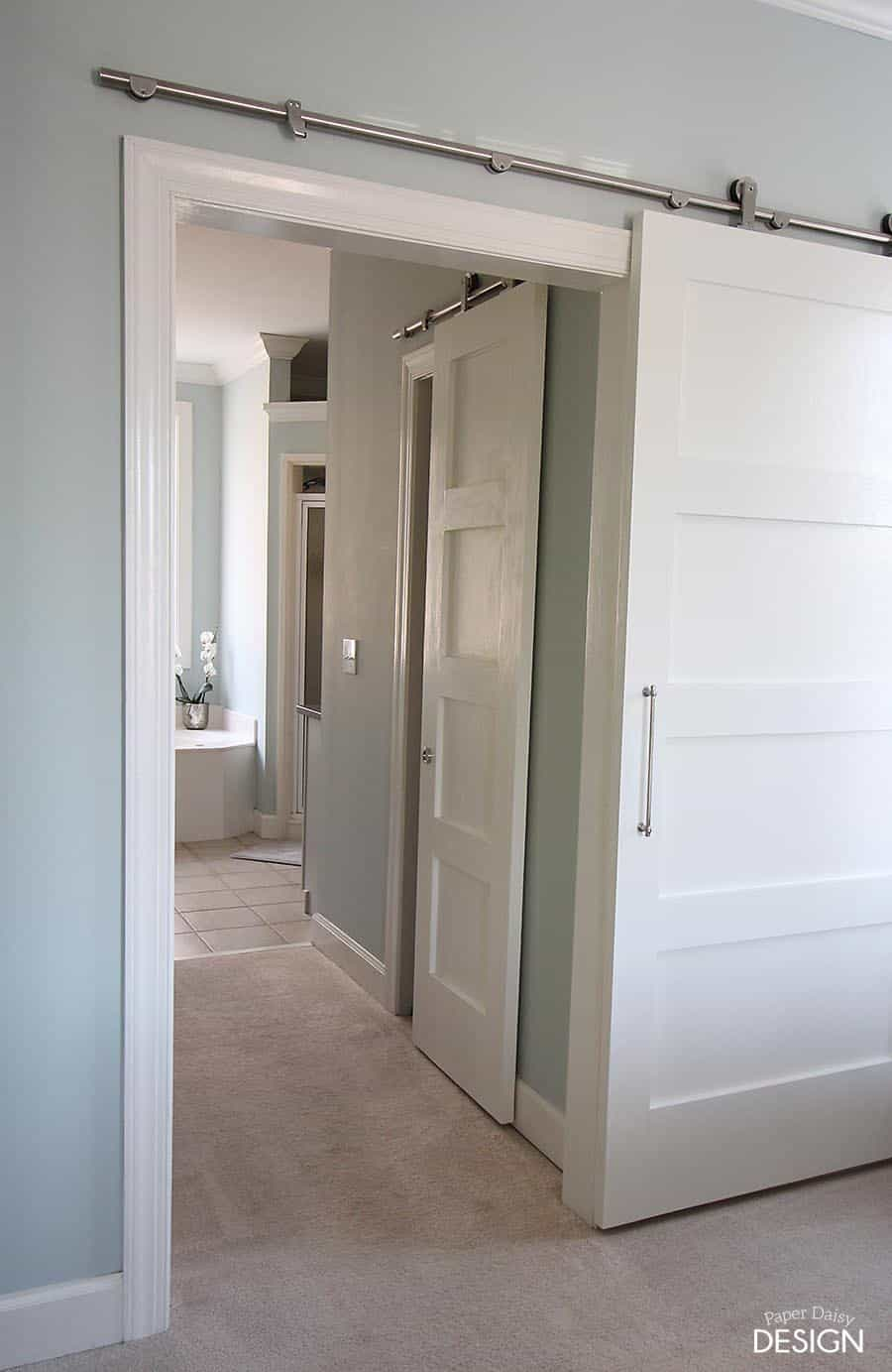 Modern Barn Doors An Easy Solution To Awkward Entries