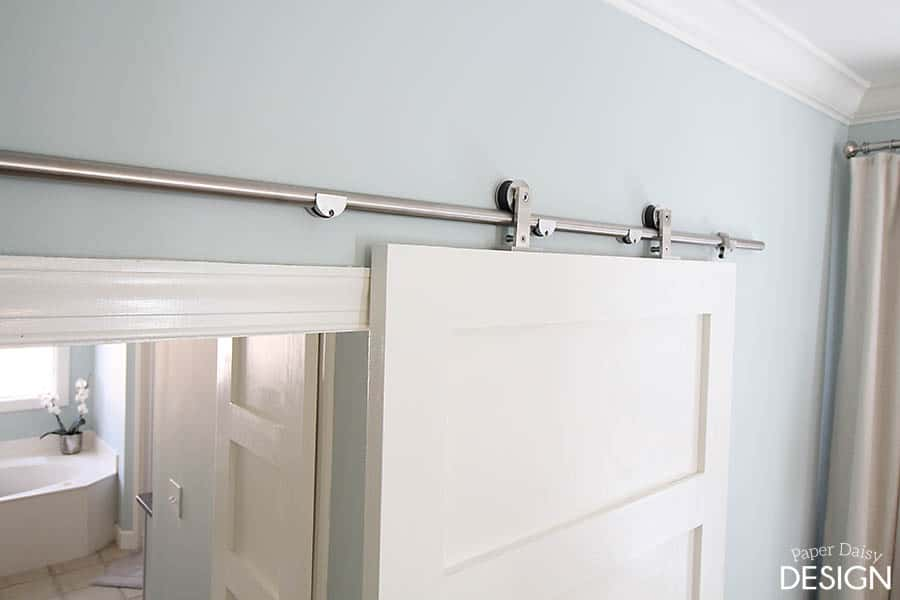 How To Install Barn Door Hardware Deeply Southern Home