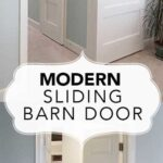 Modern Barn Doors:  An easy solution to awkward entries