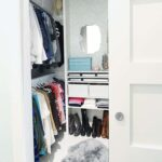 From Cluttered Mess to Mini-Dressing Room, A DIY Closet Makeover
