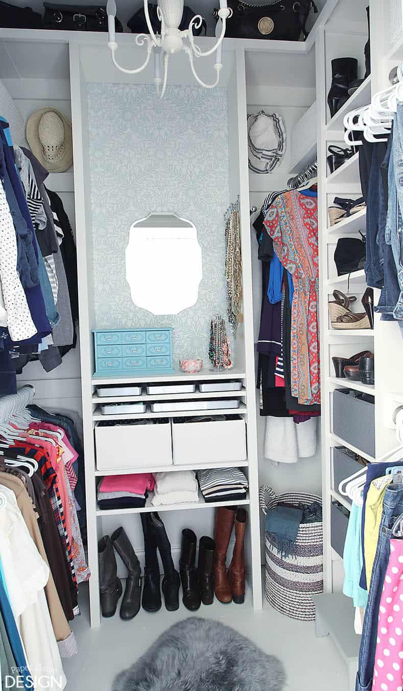 Custom Closet DIY: How to and Plans for dressing room ...