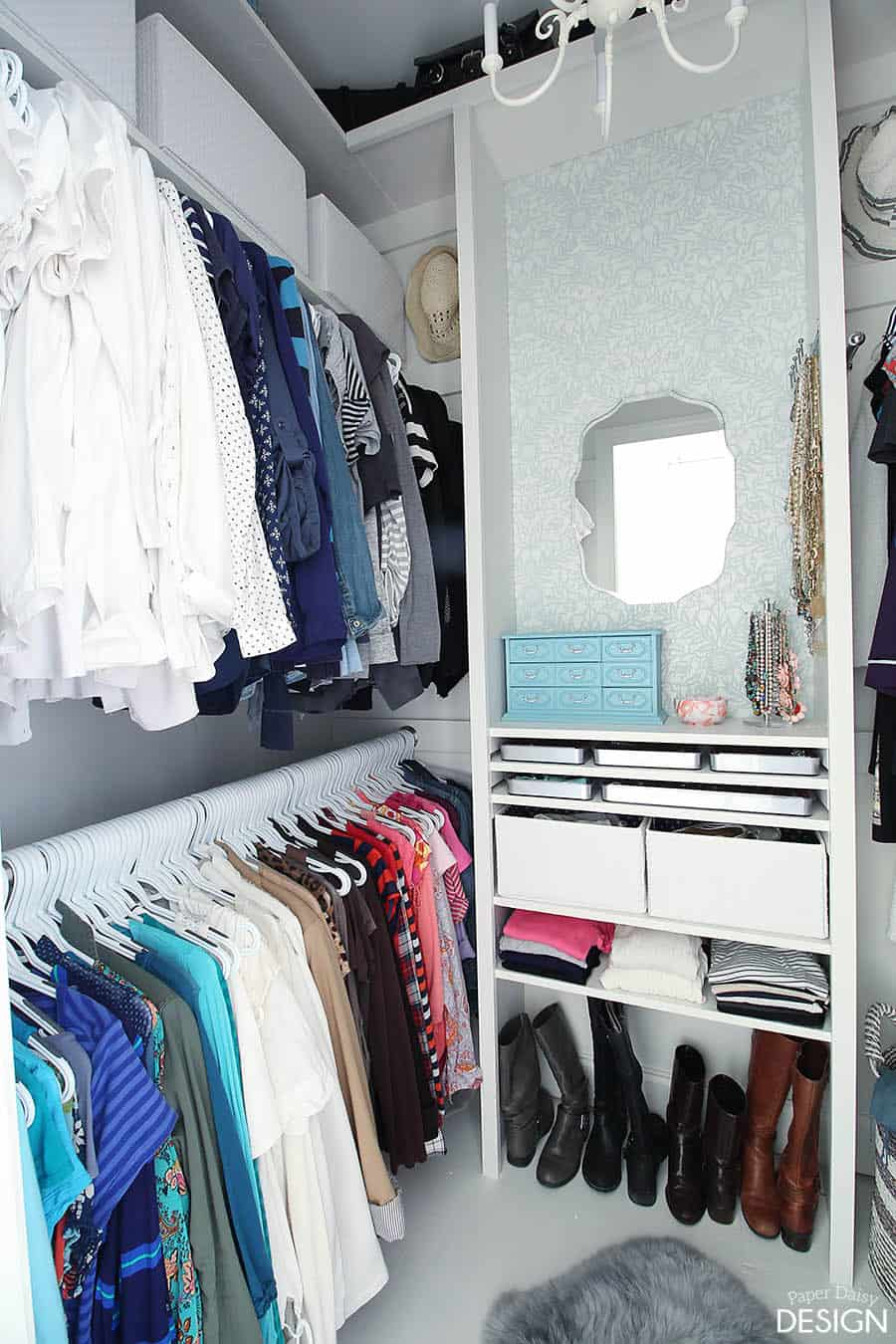 Custom closet diy how to and plans for dressing room for Southern closets