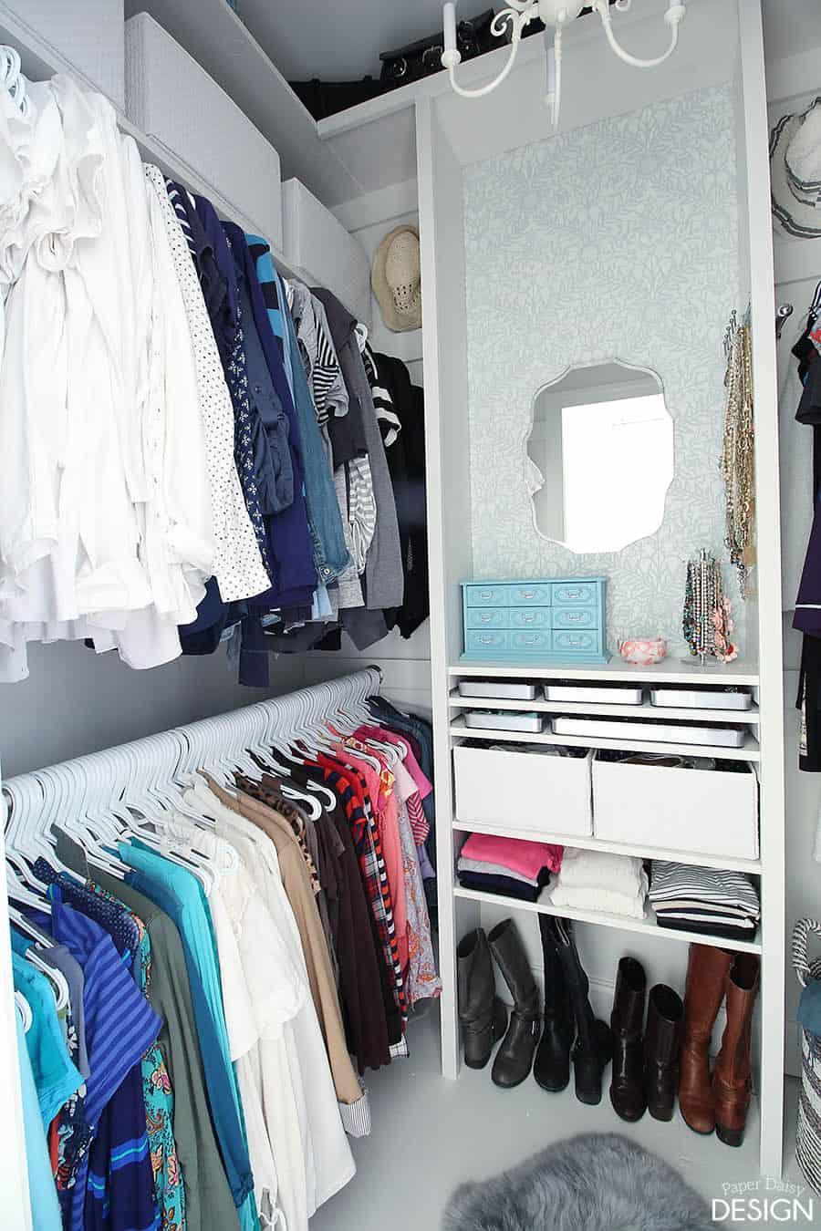 Custom Closet Diy How To And Plans For Dressing Room Closet