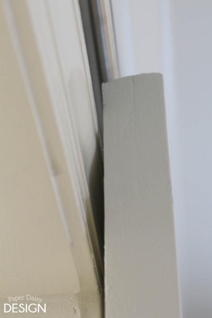 Barn Door hardware installation