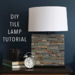 Modern Tile Lamp, DIY Lighting Project