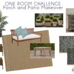 One Room Challenge WEEK TWO: Porch and Patio Makeover