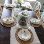 Botanical Easter Tablescape