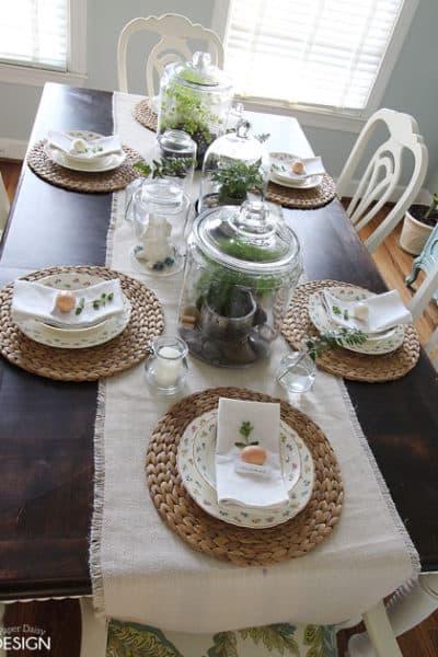 Botanical Easter Tablescape