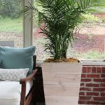Modern trapezoid planters