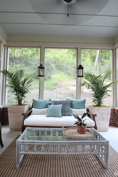 One Room Challenge: Week Four Porch and Patio Makeover