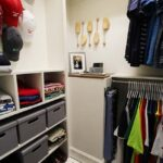 Masculine Custom Closet