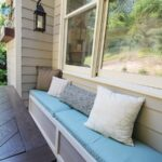 Easy DIY Outdoor Banquette/Bench