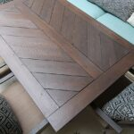 Split Herringbone Patio Tabletop