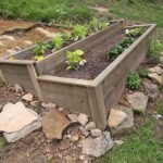 How to build an Organic Raised Bed on a Sloped Yard