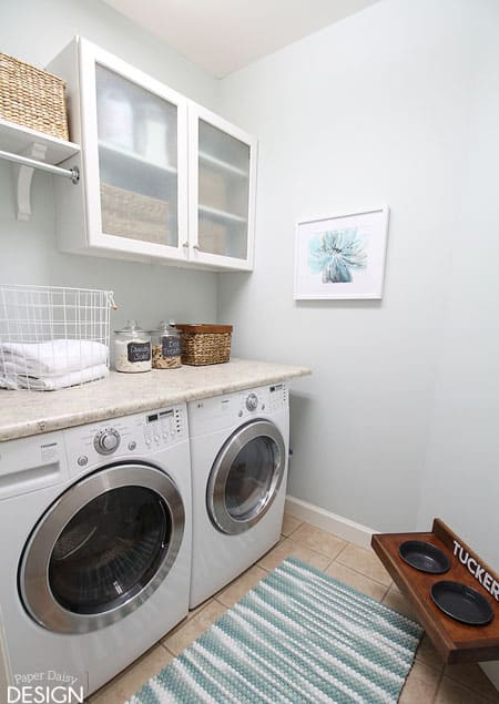 Makeover tiny laundry tiny budget Tiny room makeover