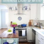 1 White Kitchen 3 Ways: Timeless Blue and White