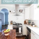 1 White Kitchen 3 Ways: Classic White on White