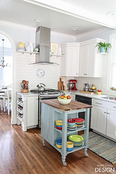 1 White Kitchen 3 Ways with a Bonus