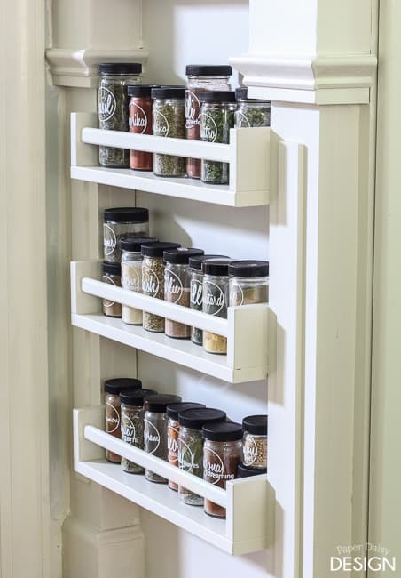 spicerack-5130 & Easy Built-in Spice Rack Bekvam Ikea Hack · DeeplySouthernHome