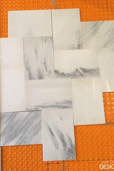 One Room Challenge: Week 2 Master Bathroom
