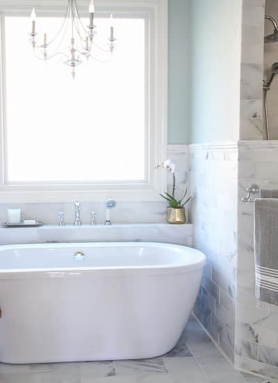 Marble Master Bathroom: The Details