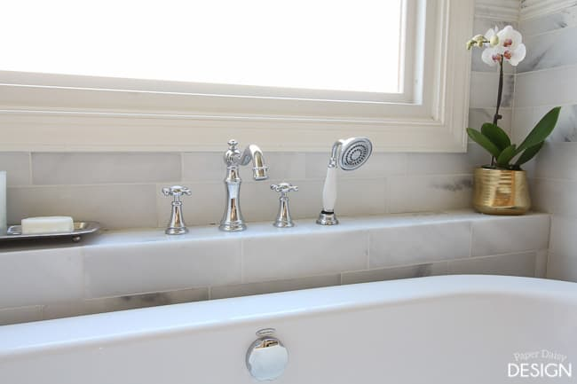 Freestanding Tub Filler/PaperDaisyDesign.com