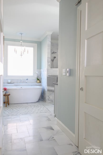 Marble Hall way/PaperDaisyDesign.com