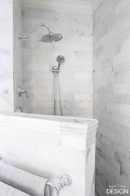 rain shower head/PaperDaisyDesign.com
