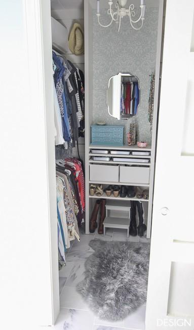 DIY custom Closet/PaperDaisyDesign.com