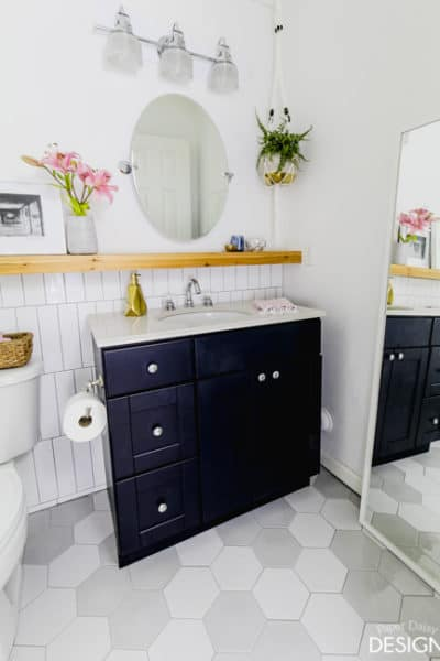 Classic Modern Bathroom with The Home Depot