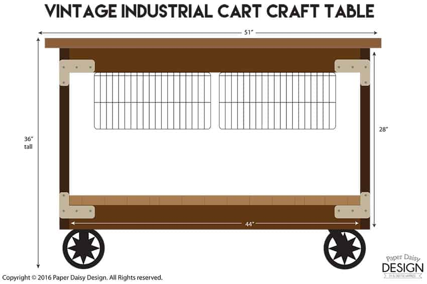 ... 2x4 Craft Table · The Simple Sketch Above Will Be Updated With A More  Detailed Plan And A Cut List ...