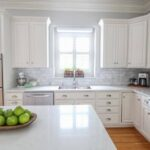 Inspired: Mary's Dreamy White Kitchen