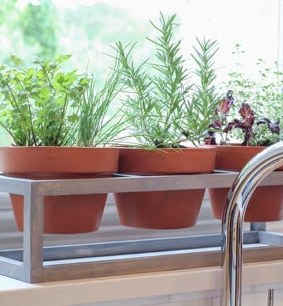 Spring Cleaning and Planting: How to build a Windowsill Planter