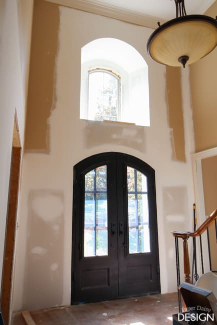arched window and door