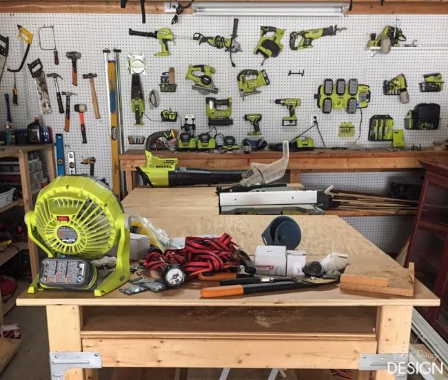 Ryobi Tool organization/Paper Daisy Design.com